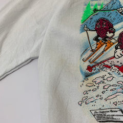 Ski Party White Sweat【used】