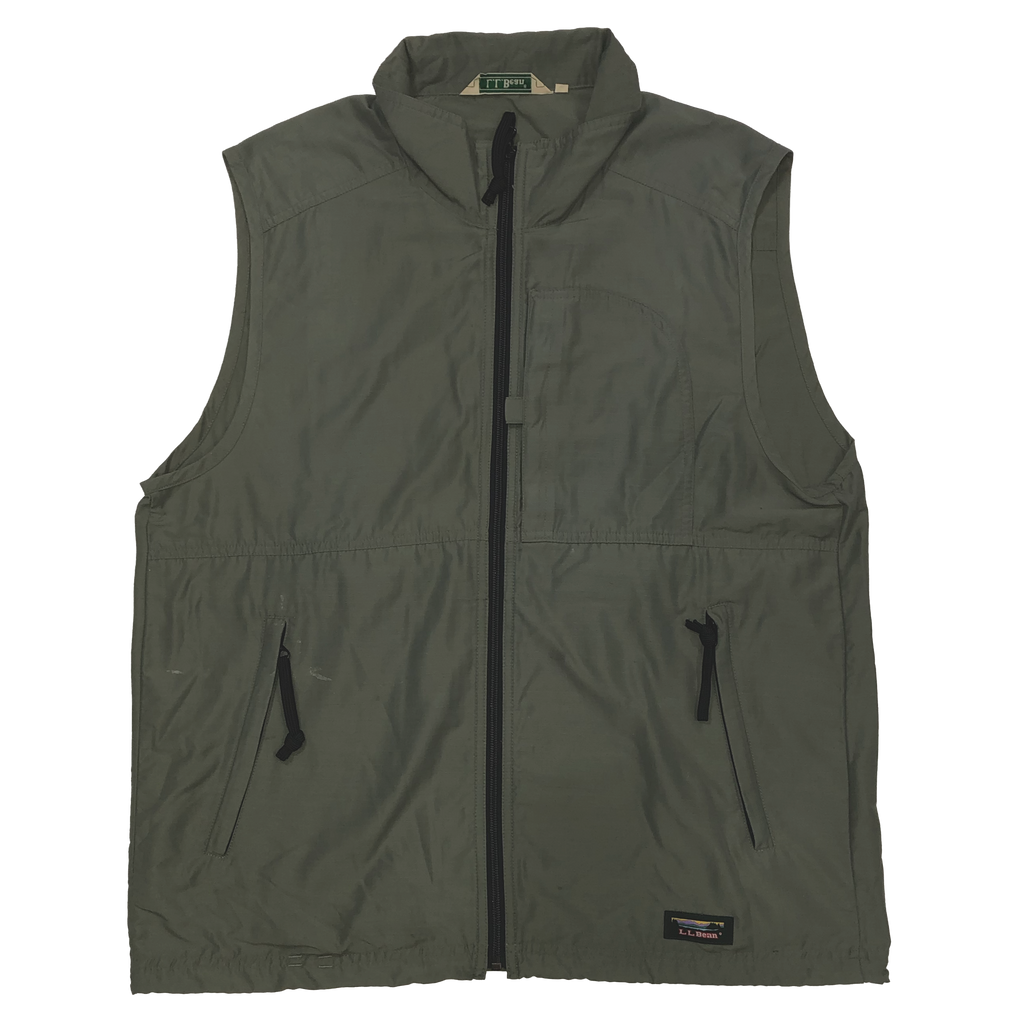 L.L.Bean green vest【used】