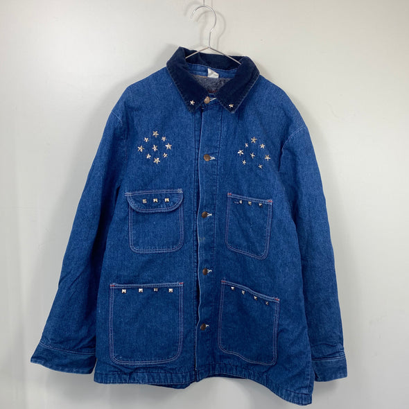 Star studs denim cover all【used】