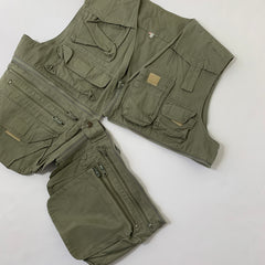 Khaki Fishing Best【used】