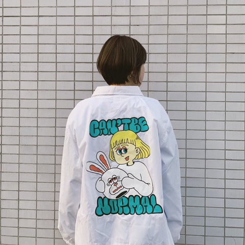 [追加販売] Can't be normal coach jacket(1 animal)【original】