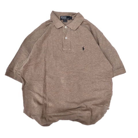 Polo Ralph Lauren brown polo【used】
