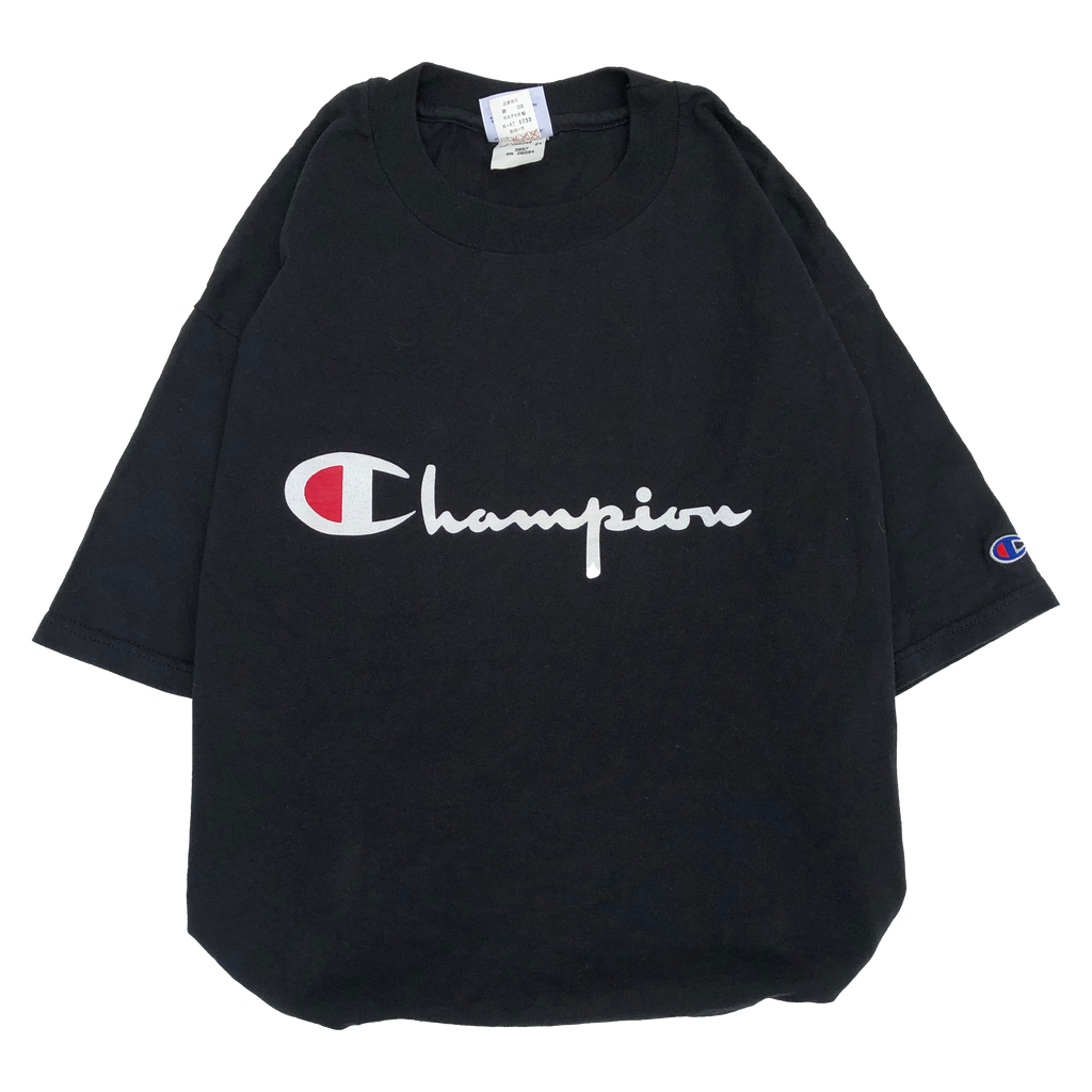 Champion black T【used】