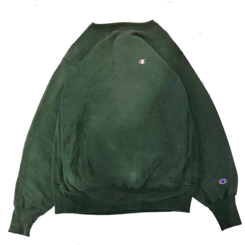 Champion reverse green sweat【used】