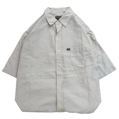 Ralph white check work shirts【used】
