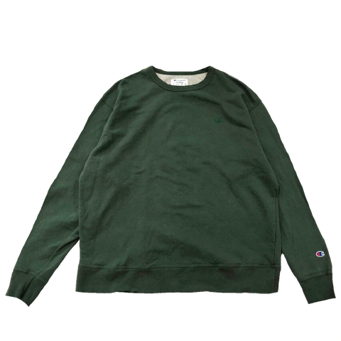 Champion green sweat【used】
