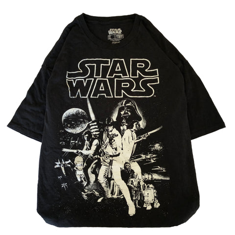 Star Wars black T【used】