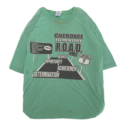 ROAD green T【used】