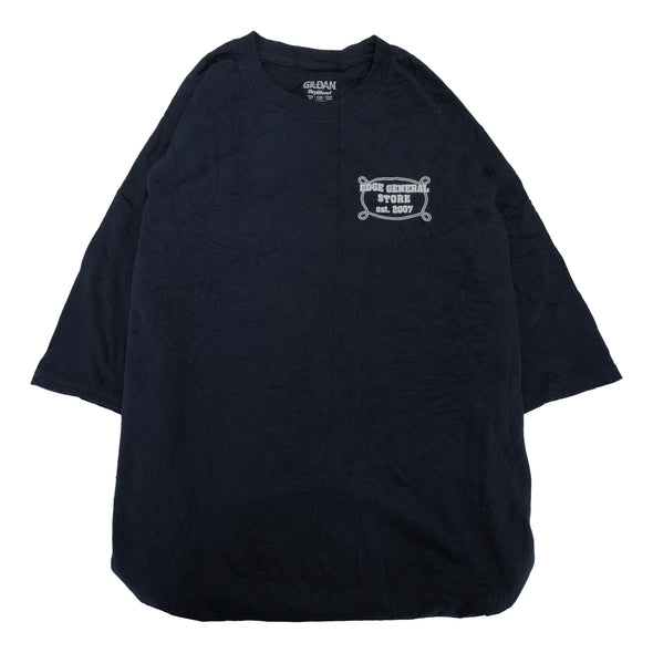 EDGE GENERAL STORE navy T【used】