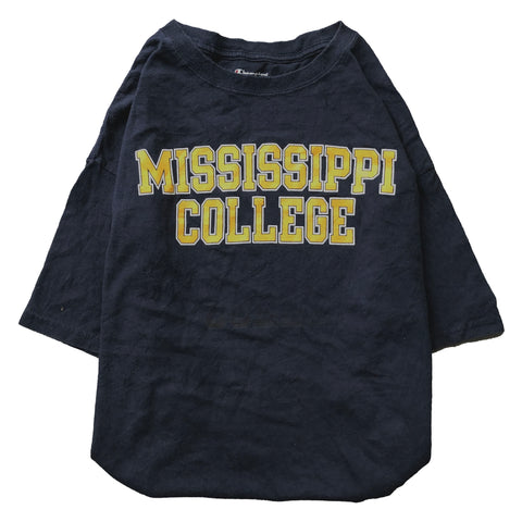 Mississippi navy T【used】
