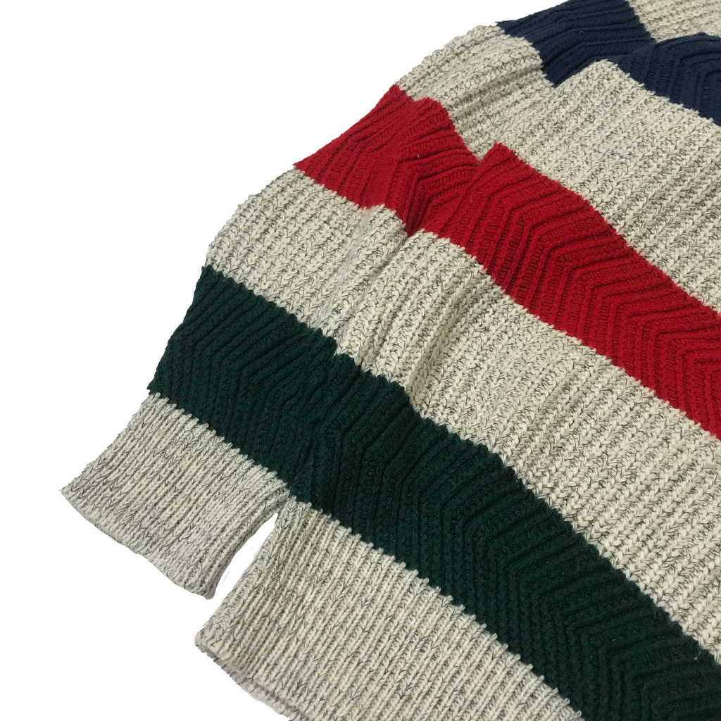 Multi Color Border Knit【used】