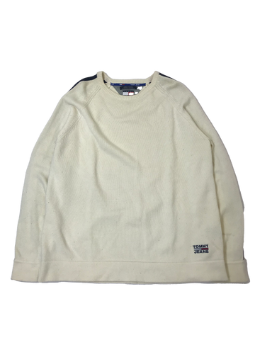 Tommy Jeans Line White Knit【used】