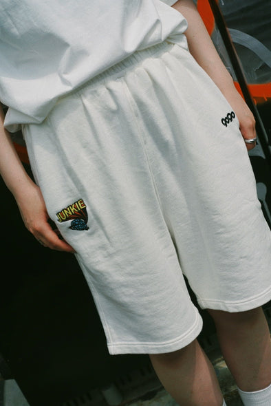 [5/8(土)21:00-]Junkie Day Sweat Half Pants(ホワイト)【original】