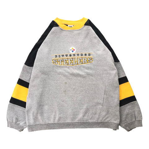 Steelers gray sweat【used】