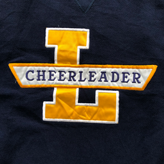 Cheerleader navy sweat【used】