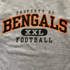 BENGALS gray sweat【used】