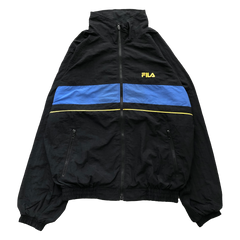 FILA black nylon jacket【used】