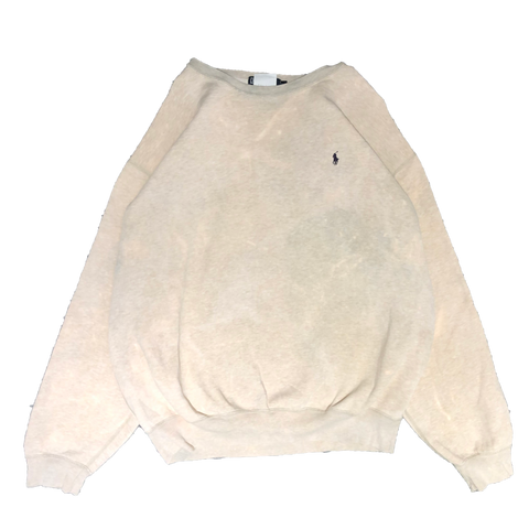 Ralph beige sweat【used】