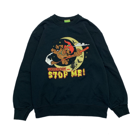 STOP ME Black Sweat【used】