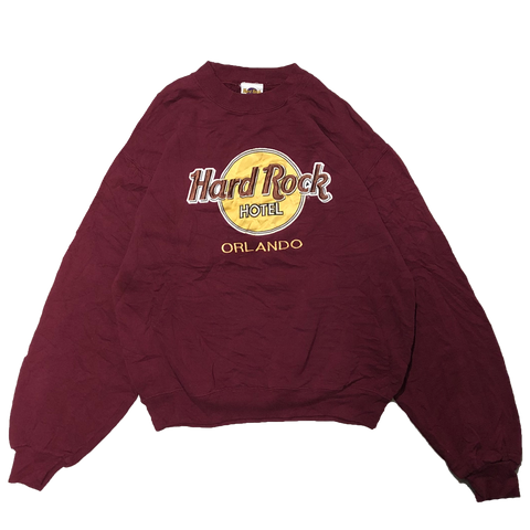HardRock red sweat 【used】