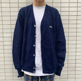 【used set】12:Lacoste cardigan code