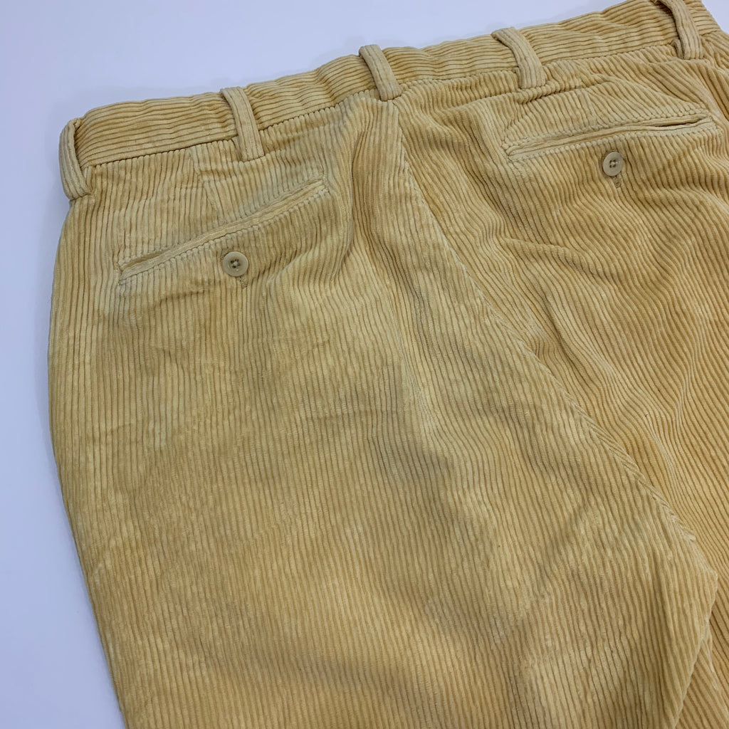 Polo by RALPH LAUREN Yellow Corduroy Pants 【used】