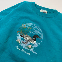 Duck Print Emerald Sweat【used】