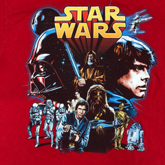 Star wars red T【used】