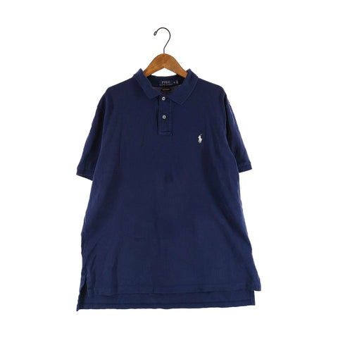 Ralph navy polo【used】