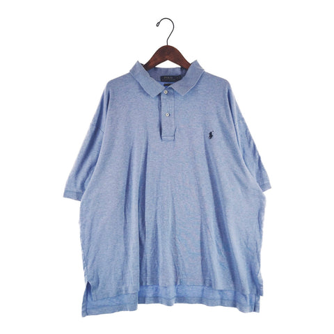 Ralph dull blue polo【used】