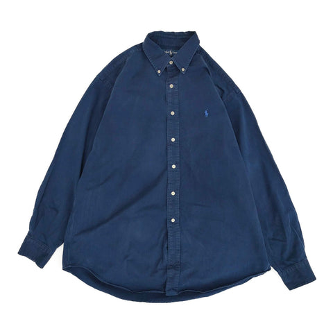 Ralph Lauren navy shirt【used】