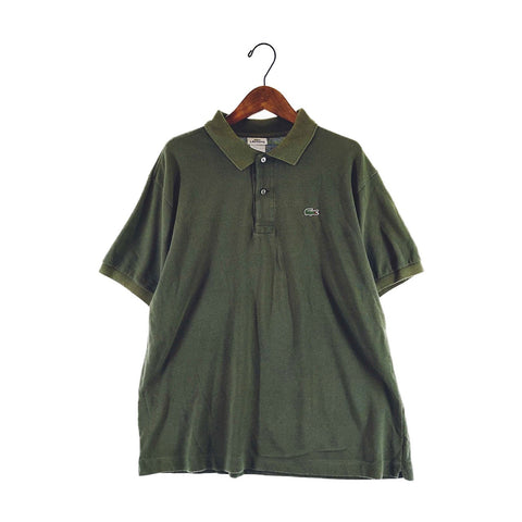 Lacoste green polo【used】