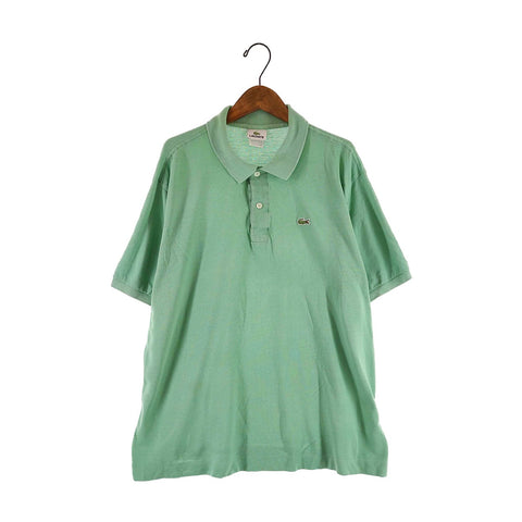 Lacoste light green polo【used】