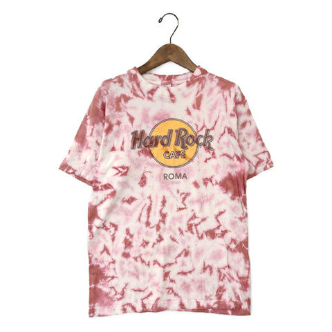 Hard rock tie-dye T(Roma)【used】