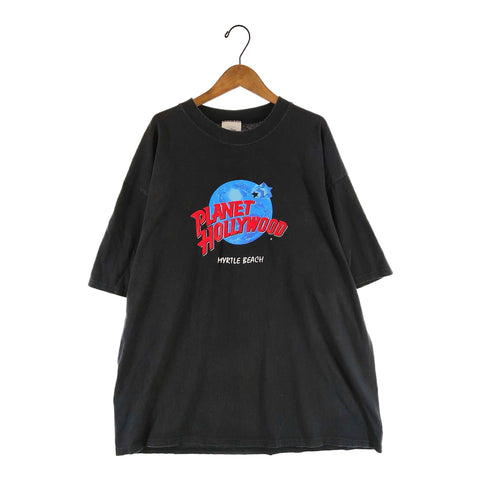 Planet Hollywood black T(Myrtle beadh)【used】