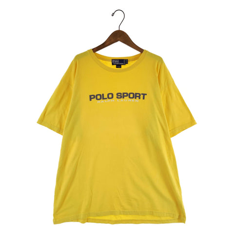 POLO SPORT yellow T【used】