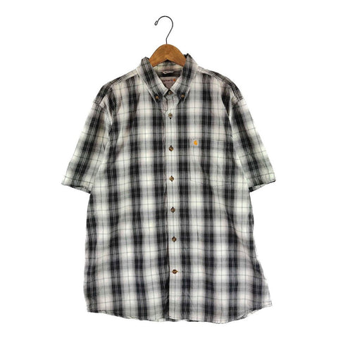 Carhartt gray check shirt【used】