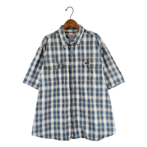 Carhartt blue check shirt【used】