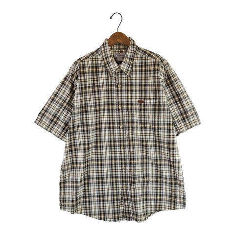 Carhartt brown check shirt【used】
