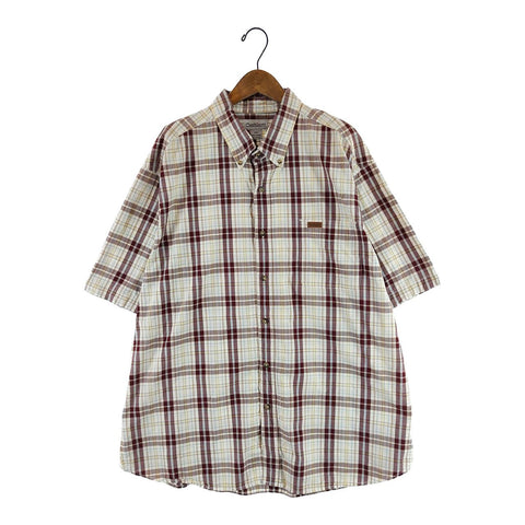 Ralph brown check shirt【used】