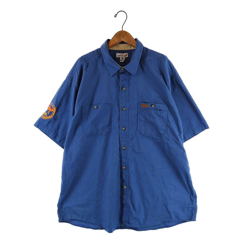 Carhartt blue work shirt【used】