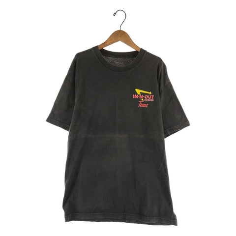 In-n-out black T【used】
