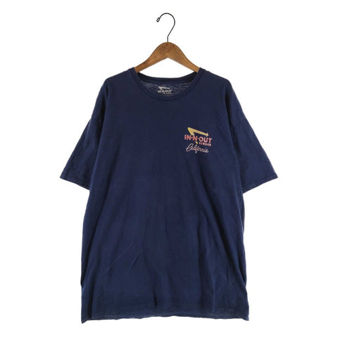 In-n-out navy T【used】