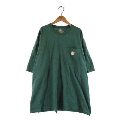 Carhartt green T【used】