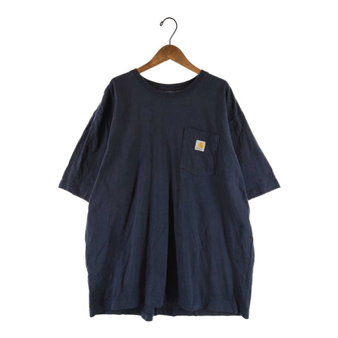 Carhartt navy T【used】