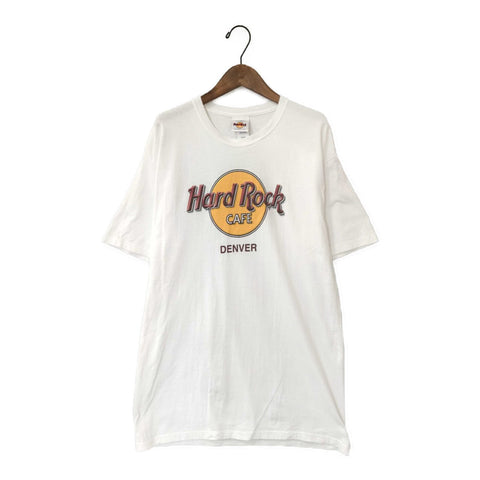 Hard Rock white Tee【used】