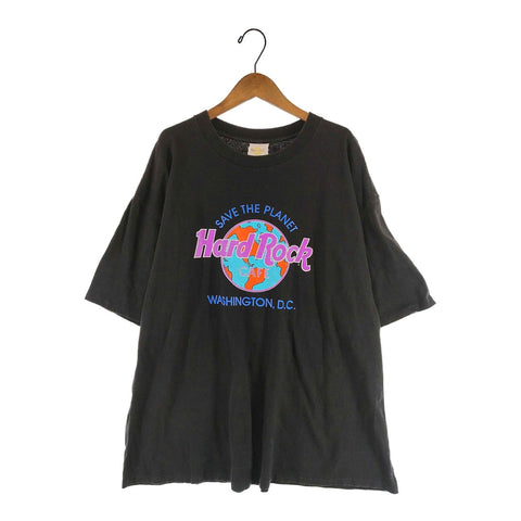 Hard Rock black Tee【used】