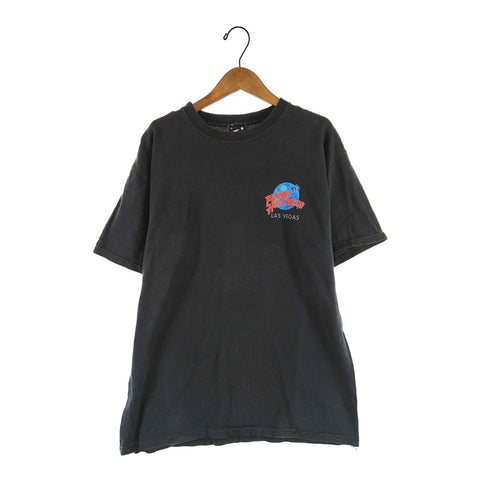 PLANET HOLLYWOOD black tee【used】