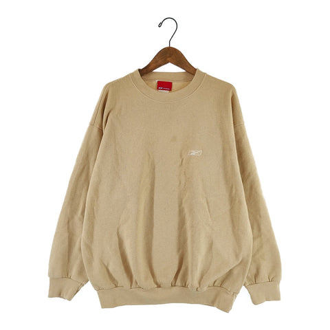 reebok beige sweat【used】