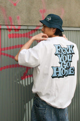 [2/28(日)21:00-]9090 ×  WIND AND SEA FXXK YOU GO HOME T(ホワイト)【original】